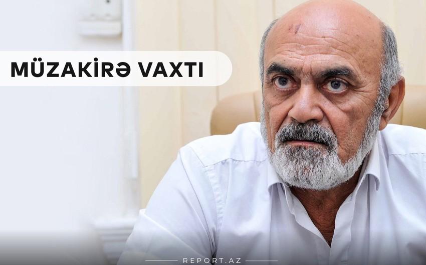 """Xalq artisti Vidadi Həsənov: """"Kinonun biznes tərəfini qurmaq lazımdır"""""""