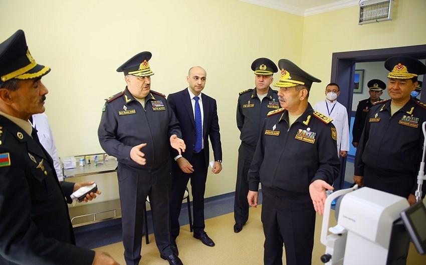 Zakir Həsənov Baş Klinik Hospitalın yeni korpusunun açılışında iştirak edib - VİDEO