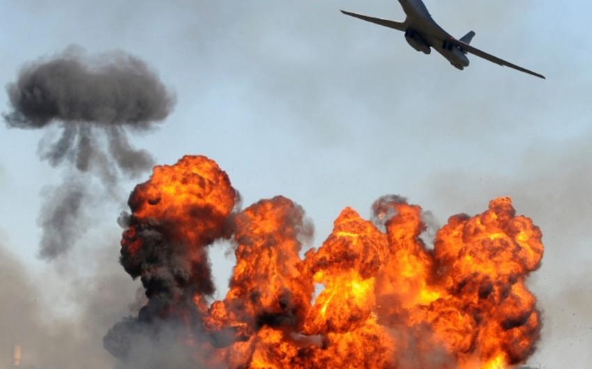 Avstraliya İŞİD-in mövqelərinə havadan zərbələr endirib