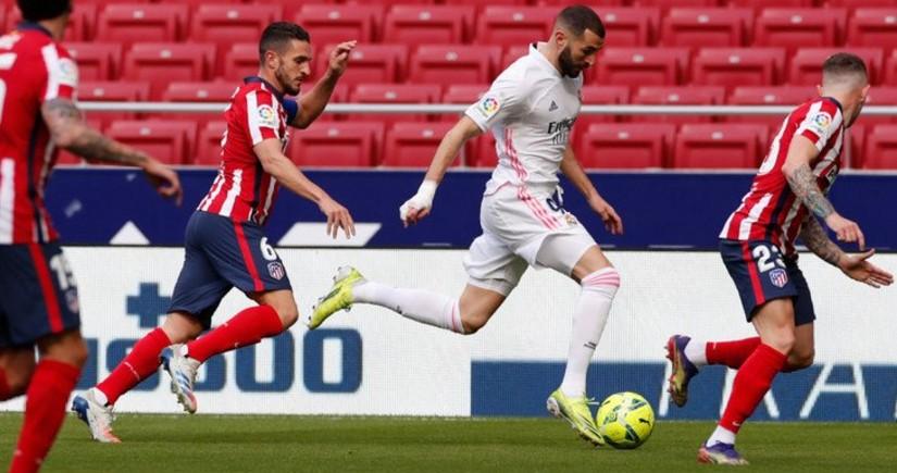 İspaniya La Liqası: Atletiko - Real Madrid oyununda qalib müəyyənləşmədi