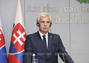 Slovak FM: Azerbaijan is important partner in region