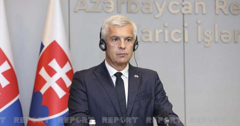 Slovakiya XİN-in rəhbəri: Azərbaycan regionda vacib tərəfdaşıdır