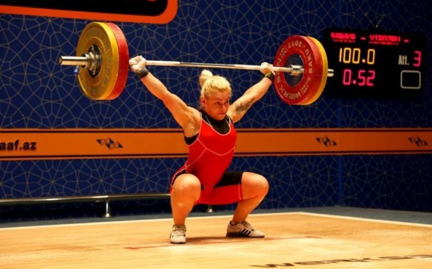Azərbaycan ağırlıqqaldıranı beynəlxalq turnirdə qızıl medal qazanıb