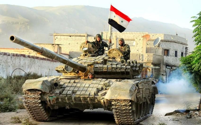Suriya ordusu İdlibdə terrorçulara zərbələr endirib