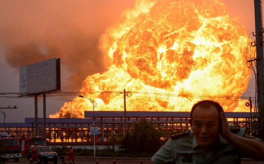 Çində kimya zavodunda partlayış baş verib: 4 ölü, 4 yaralı