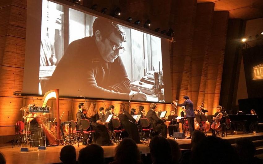 UNESCO-nun baş qərargahında Qara Qarayevin 100 illik yubileyi qeyd olunub - FOTO
