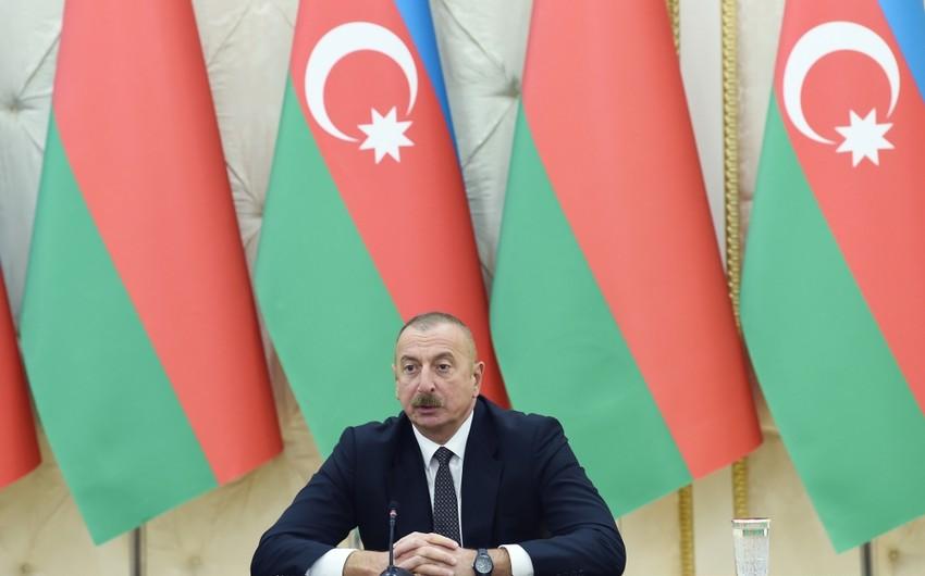 Azərbaycan Prezidenti: Zəngəzur dəhlizi reallığa çevrilir