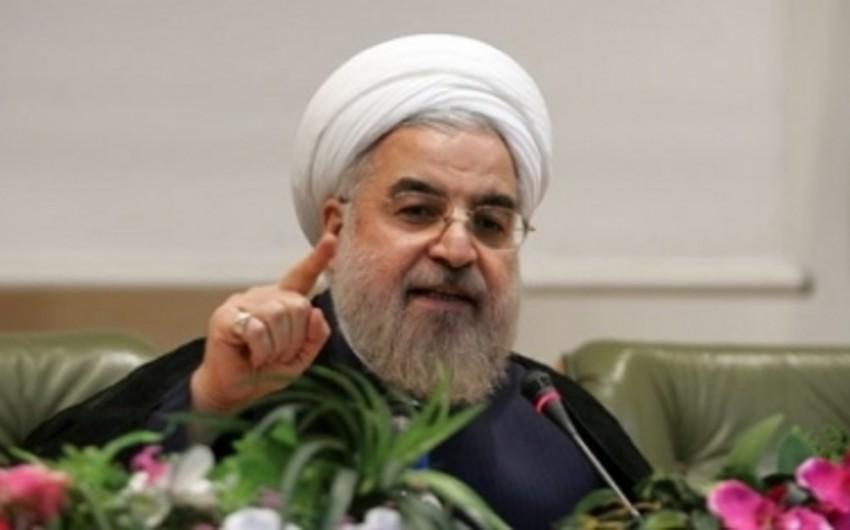 İran prezidenti Traktorsazi ilə bağlı açıqlama verib