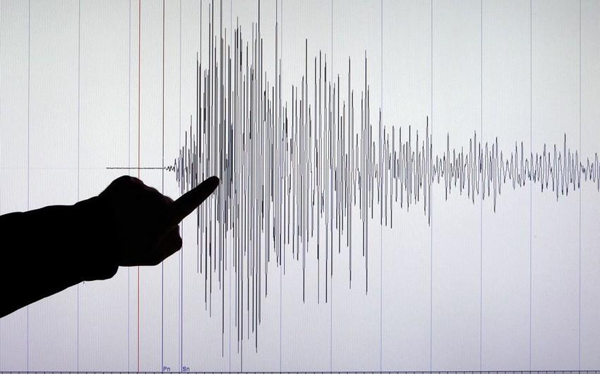 В Каспийском море произошло еще одно землетрясение