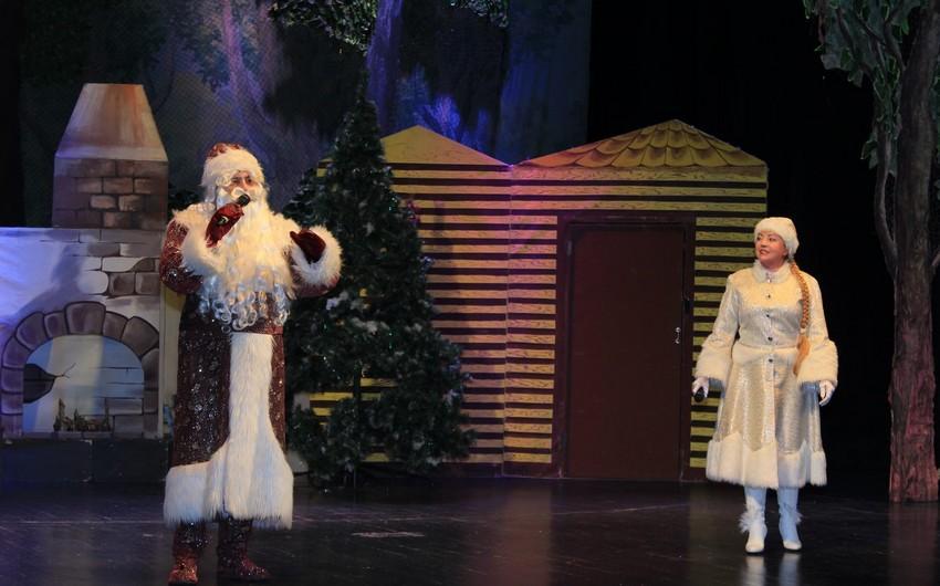 Musiqili Teatrda Yeni il bayramı münasibətilə uşaqlar üçün tamaşalar nümayiş olunacaq