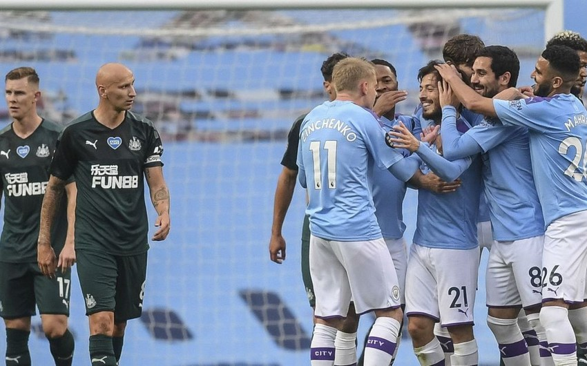 Манчестер Сити одержал разгромную победу