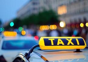 Bakıda polisin qanuni tələblərinə əməl etməyən taksi sürücüsü həbs edildi