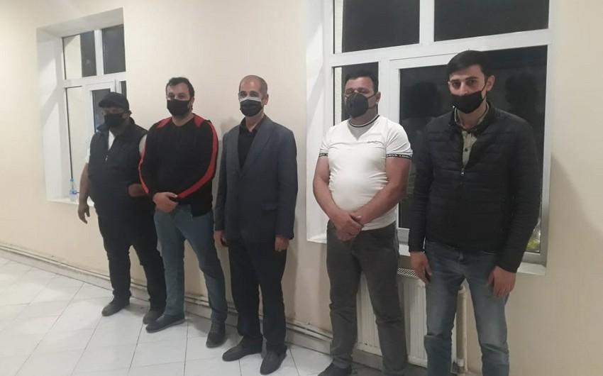 İşğaldan azad olunmuş ərazilərə keçməyə cəhd göstərən 5 nəfər saxlanılıb