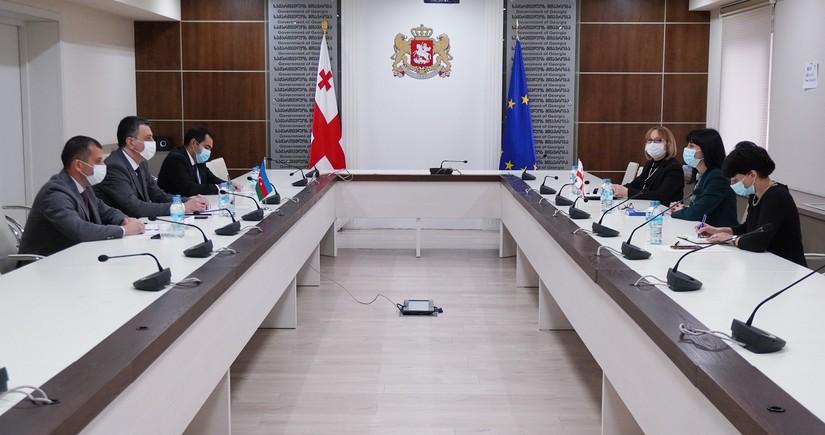 Посол Азербайджана в Грузии встретился с министром