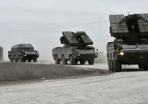 Ukrayna ordusu Krımla sərhəddə hərbi təlimlərə başlayıb