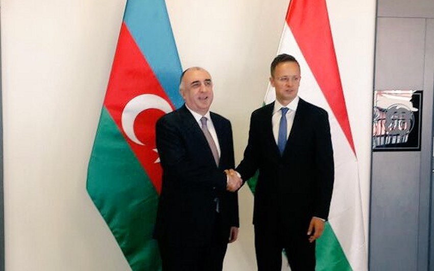 Главы МИД Азербайджана и Венгрии обсудили вопросы сотрудничества