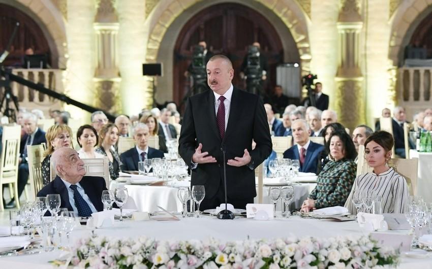 Prezident İlham Əliyev: Azərbaycanda yoxsulluq səviyyəsi 4,8 faiz ətrafındadır