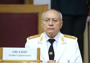 Ermənistanın keçmiş baş prokuroru saxlanılıb