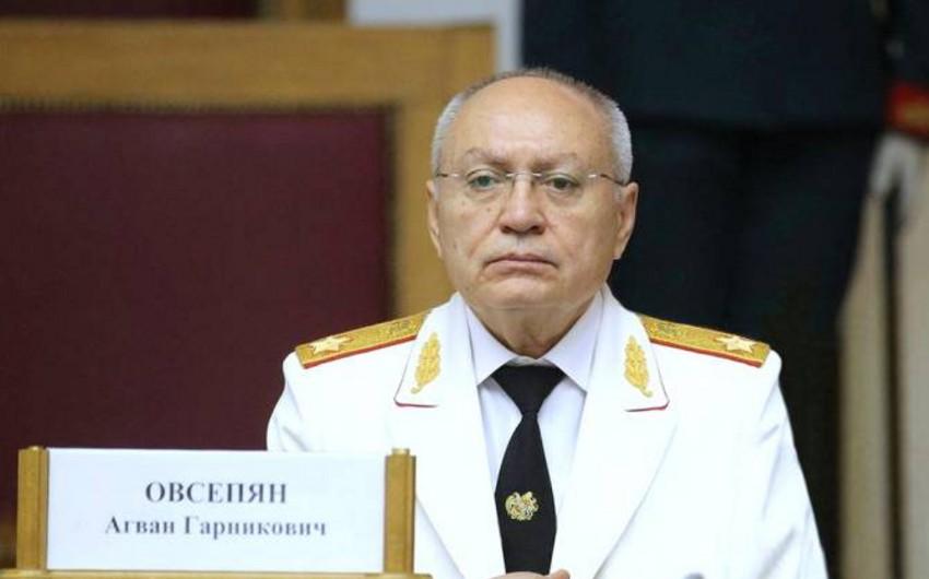 Former Armenian Prosecutor General detained