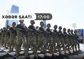 """""""Xəbər Saatı"""": Ehtiyatda olan hərbçilərin təlimləri başladı"""