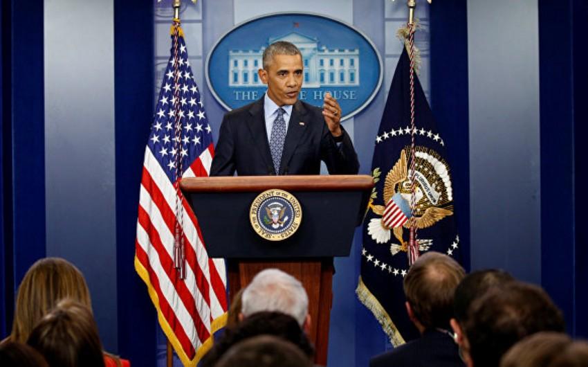 Obama: Yaxın Şərqdəki münaqişəni Fələstin dövləti yaradılmadan həll etmək mümkün deyil