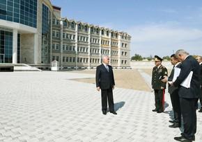 Naxçıvan Qarnizonu Mərkəzi Hospitalı üçün yeni kompleks inşa olunur