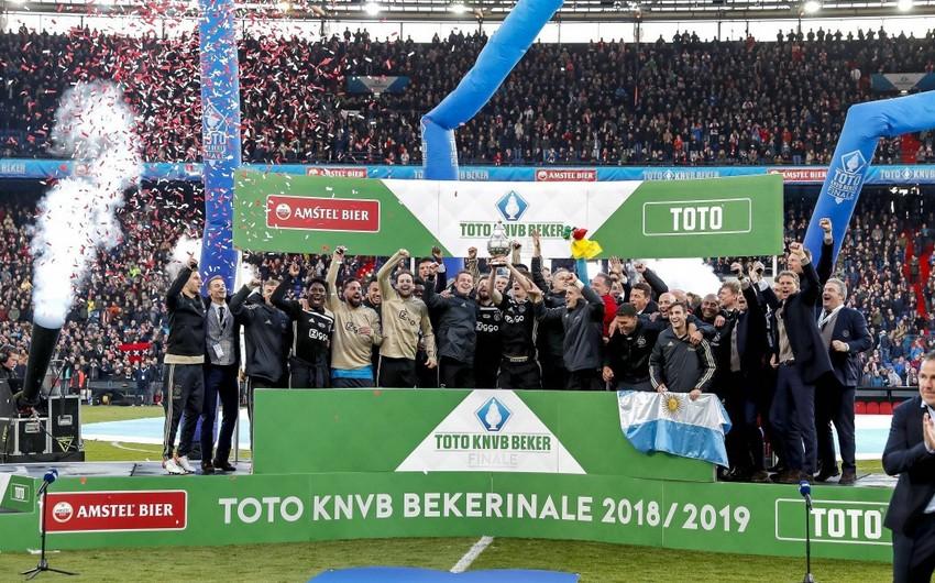 Аякс разгромил Виллем II и выиграл Кубок Нидерландов
