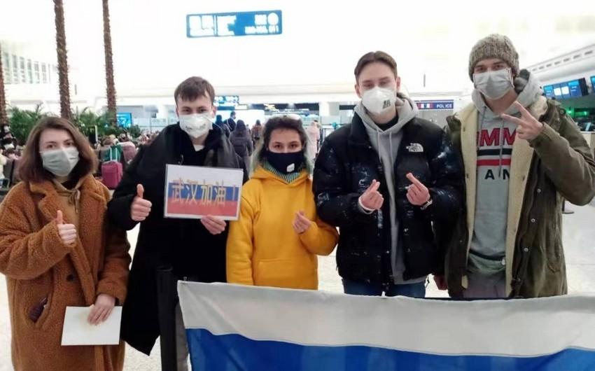 Rusiya koronavirusa görə vətəndaşlarını Hubeydən çıxardı