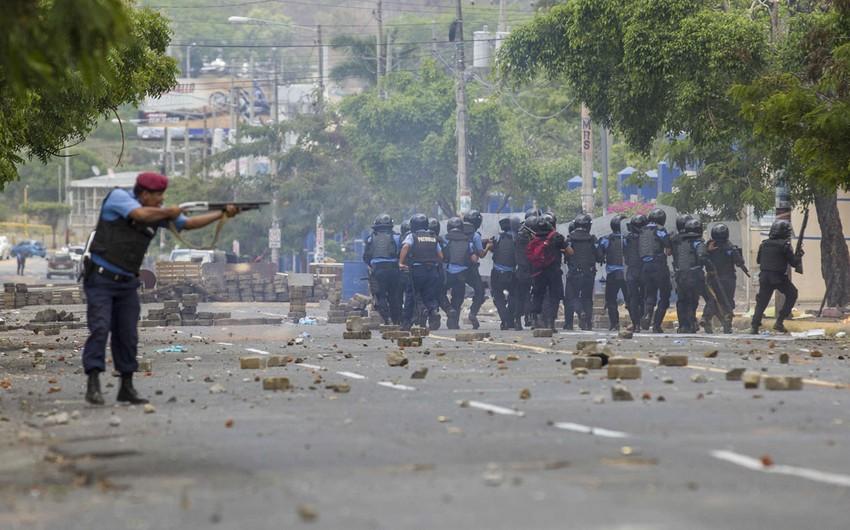 Nikaraquada etiraz aksiyası qurbanlarının sayı 63 nəfərə çatıb