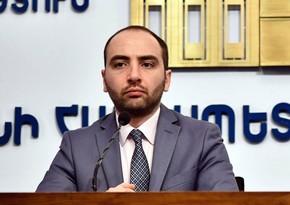 Ermənistan XİN-ə yeni mətbuat katibi təyin olunub