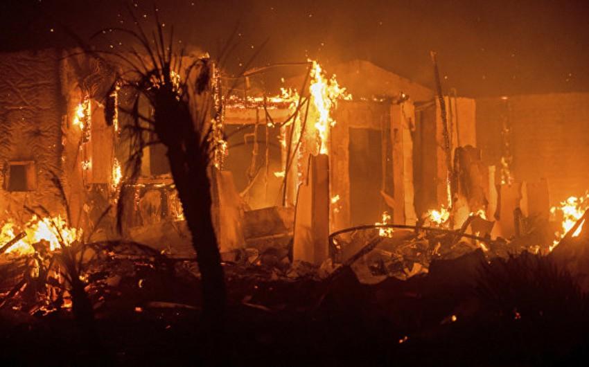 Kaliforniyada yanğınlar səbəbindən 212 min insan təxliyyə edilib - VİDEO