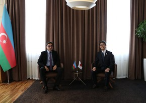 Farid Gayibov hold meetings with Russian, Japanese ambassadors