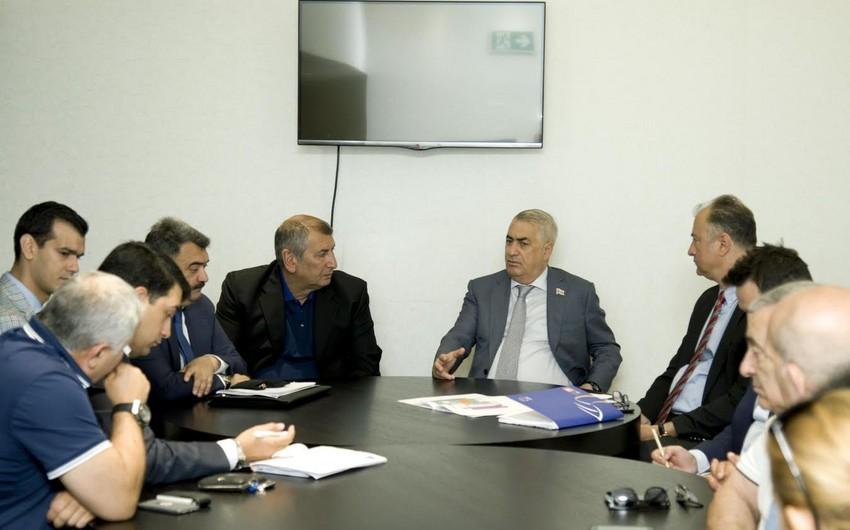 Cavid Qurbanov Qarabağda voleybolun kütləviləşdirilməsini istədi