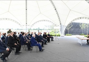 Ilham Aliyev: October 17 will take special place in centuries-old history of Azerbaijani people