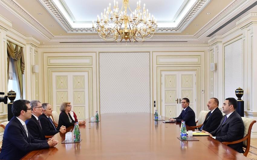 President Ilham Aliyev received President of Swiss Federation of Jewish Communities