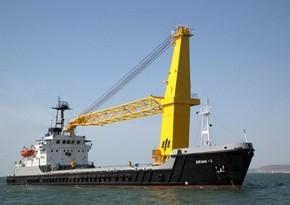 Xəzər Dəniz Neft Donanmasının kran gəmisi istismara qaytarılıb
