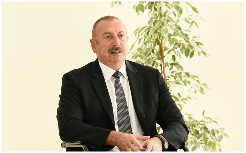 President of Azerbaijan:  If there is East Zangazur, then there is also West Zangazur