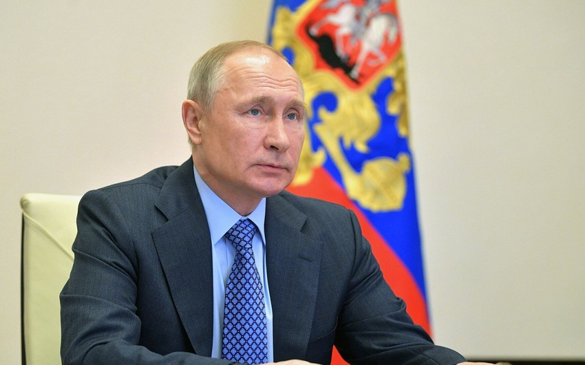 Rusiya prezidenti: Atəşkəsin bir daha pozulmayacağına ümidvaram