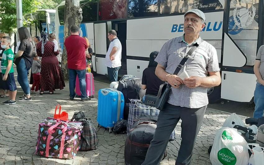 Из Грузии эвакуируют еще 250 азербайджанцев