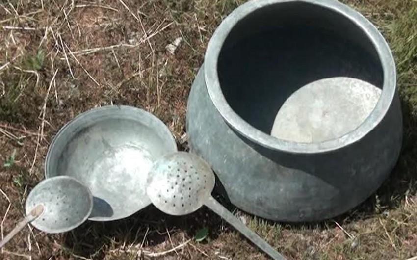 Salyan sakini 350-400 illik məişət əşyalarını qoruyaraq saxlayıb - FOTO