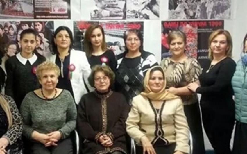 Almaniyadakı Azərbaycan və Türk diasporu 20 Yanvar faciəsinin ildönümünü qeyd edib