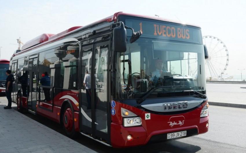 Bakıda 21 saylı avtobus xətti Baku Busa verilib
