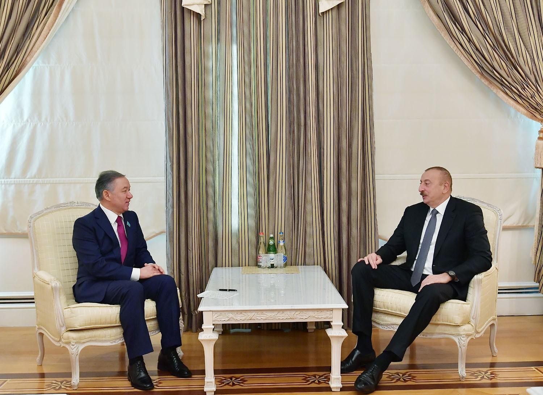 Президент Азербайджана принял председателя Мажилиса парламента Казахстана - ОБНОВЛЕНО