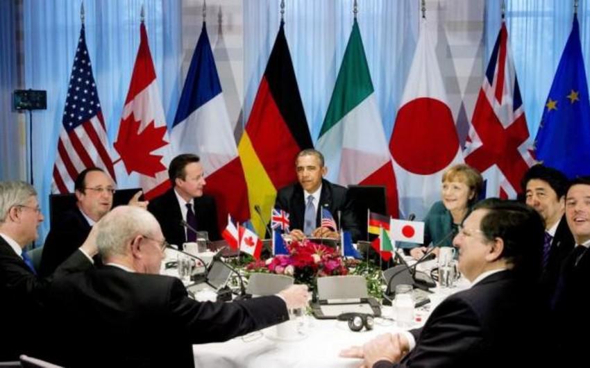 G7 Minsk razılaşmalarını pozanları cəzalandıracaq