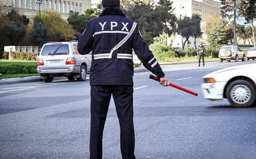 Yol polisi Novruz bayramı ilə əlaqədar gücləndirilmiş iş rejiminə keçib