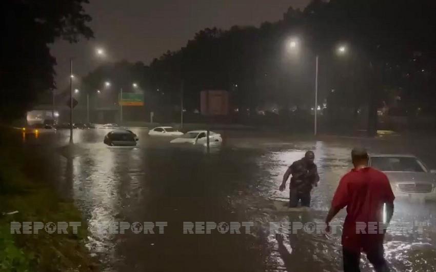 ABŞ-ın cənubunda baş verən fırtınaya görə bir neçə ştatda fövqəladə vəziyyət elan olunub