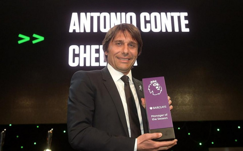 Конте признан лучшим тренером сезона в АПЛ по версии лиги