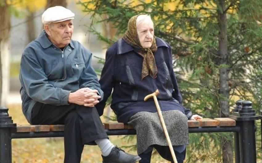 Pensiyaçılarla bağlı statistika