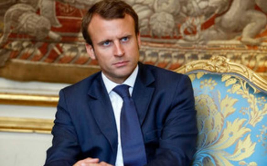 """Fransa prezidenti: """"Suriyaya hərbi müdaxilə etməklə bağlı qərar qəbul edəcəm"""""""