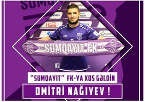 Sumqayıt millimizin sabiq futbolçusu ilə müqavilə imzaladı